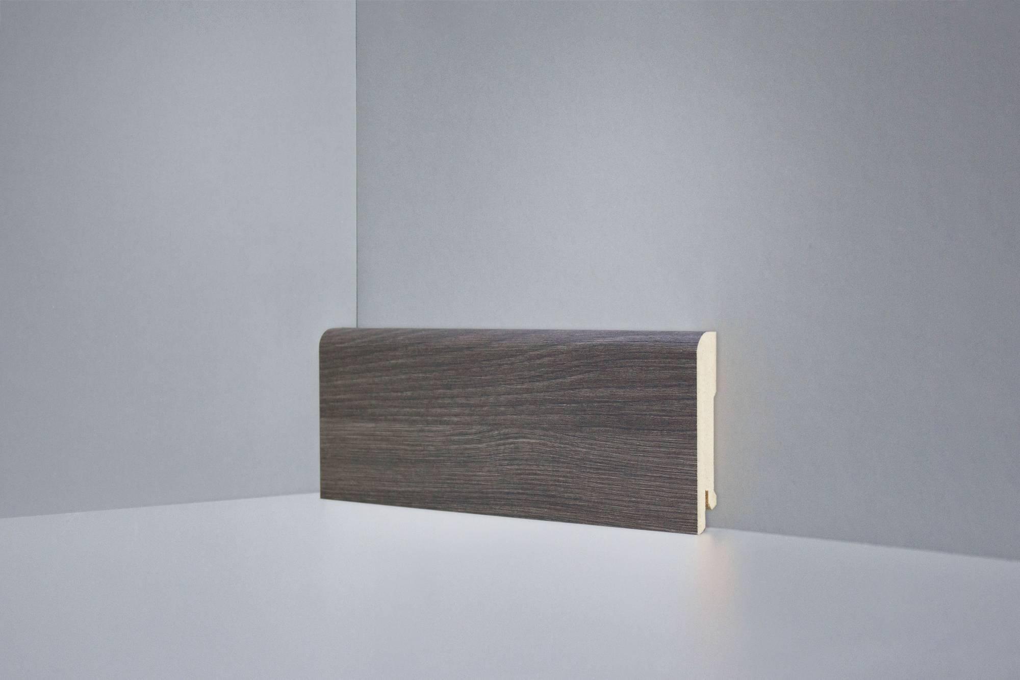 Плинтус напольный Deartio Монте-Карло серый B202-03