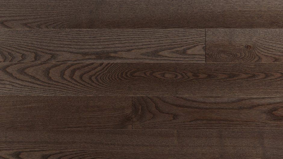 Инженерная доска Mercier Белый ясень Каменно-коричневый 2-х слойная 82,55мм