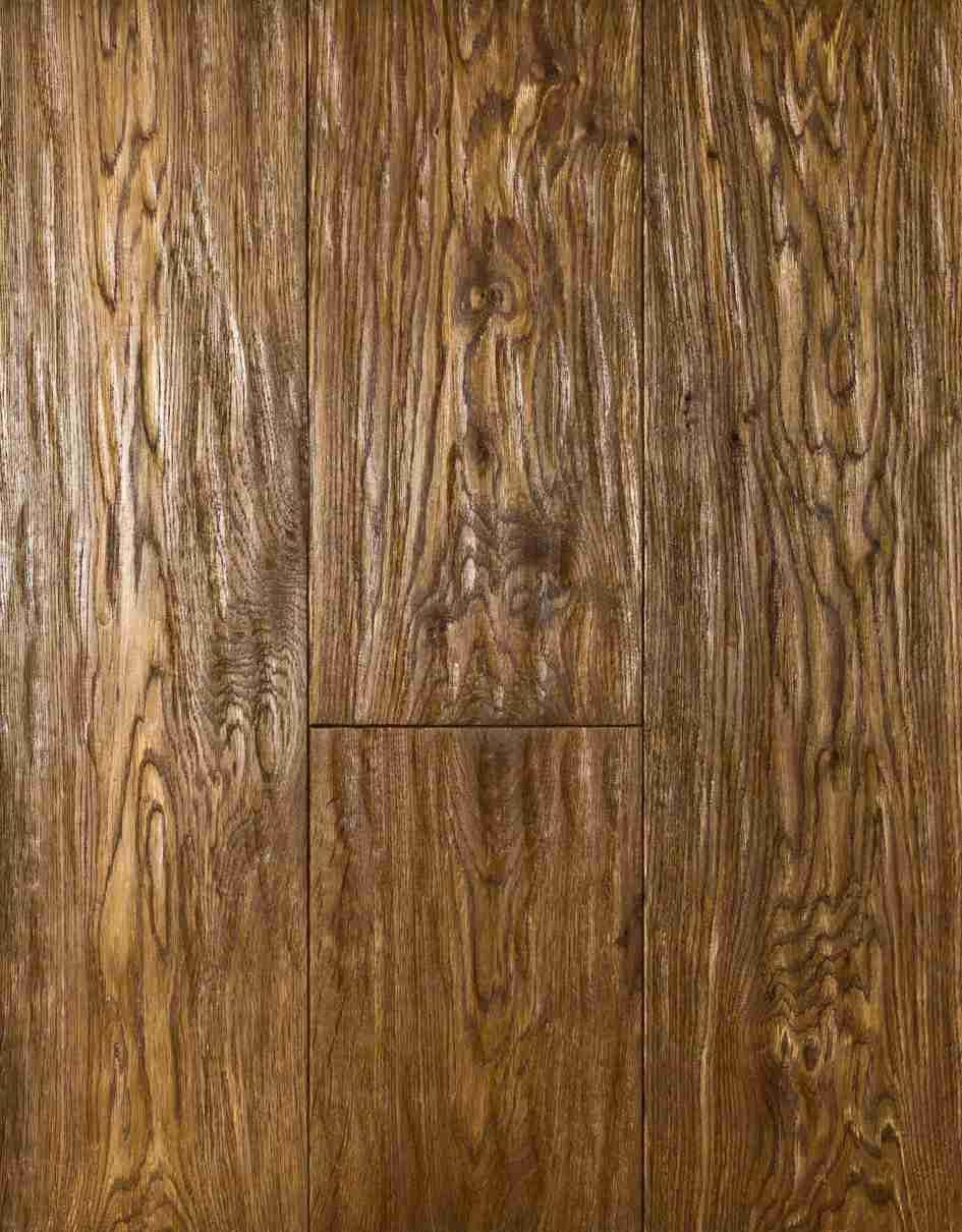 Инженерная доска Siberian Floors Дуб Тес Мореный Масло Натуральное