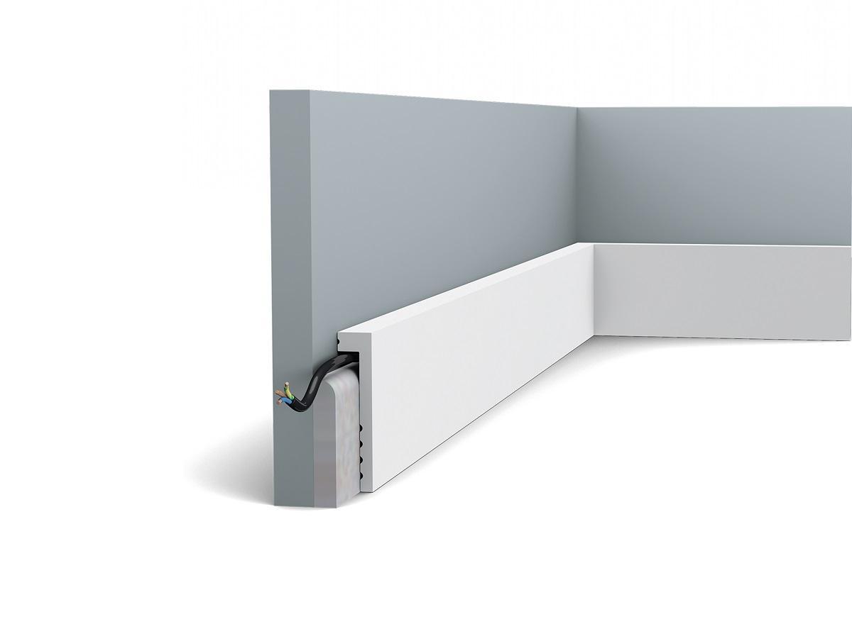 Плинтус напольный Orac Decor SX171 перекрывающий