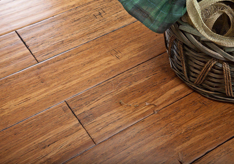 Массивная доска Parketoff Бамбук Прессованный Карибы