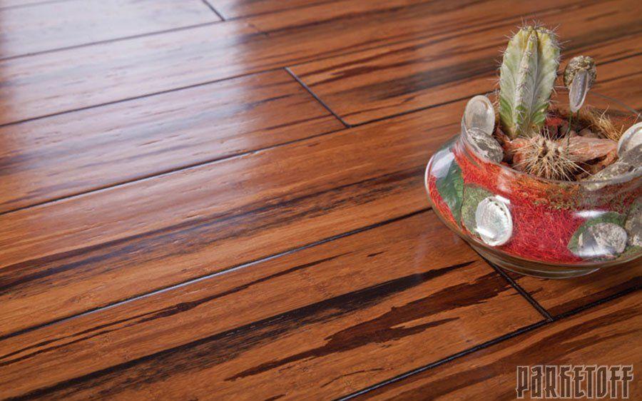 Массивная доска Parketoff Бамбук Прессованный Джангл