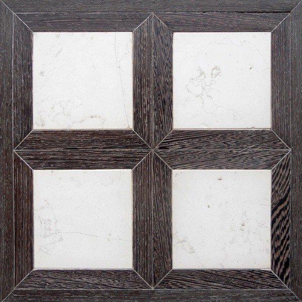 Модульный паркет Da Vinci с камнем 26-006-00350