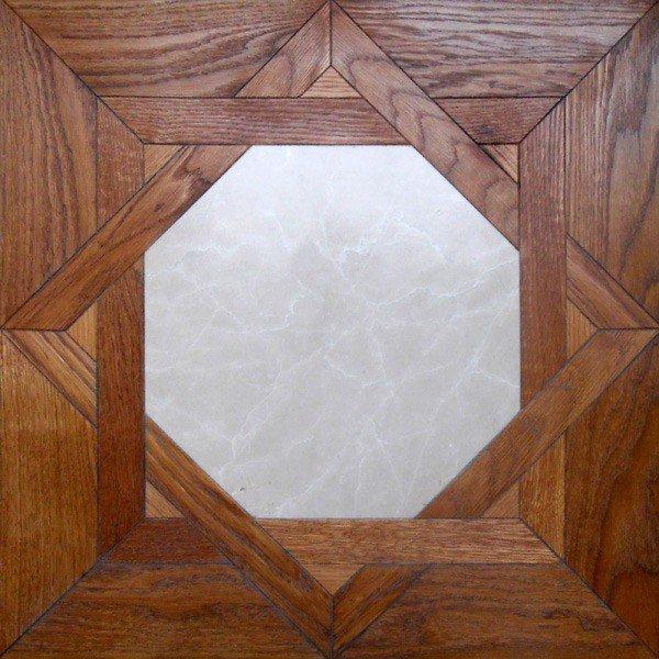 Модульный паркет Da Vinci с камнем 26-006-00351