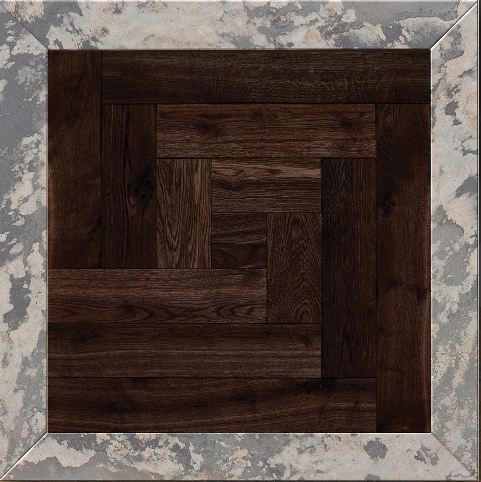 Модульный паркет Da Vinci с камнем 26-006-00382