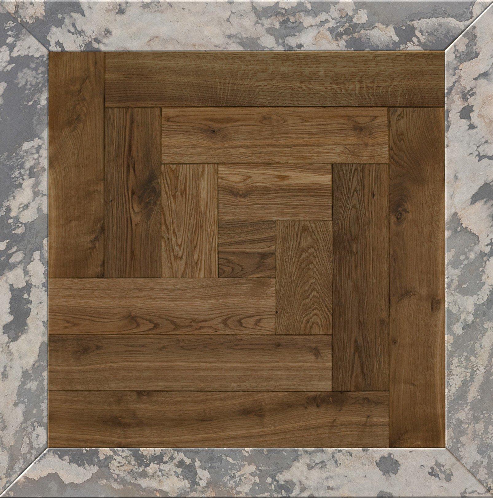 Модульный паркет Da Vinci с камнем 26-006-00383