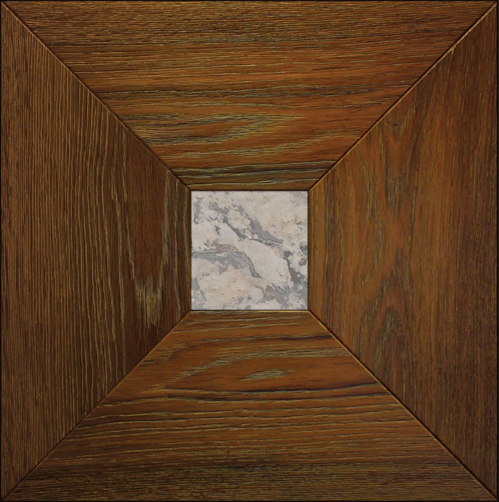 Модульный паркет Da Vinci с камнем 26-006-00415