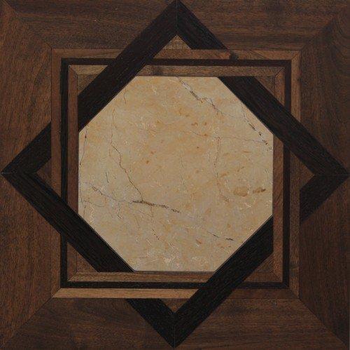 Модульный паркет Da Vinci с камнем 26-006-00423