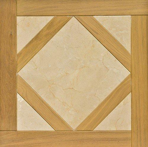 Модульный паркет Da Vinci с камнем 26-006-00427