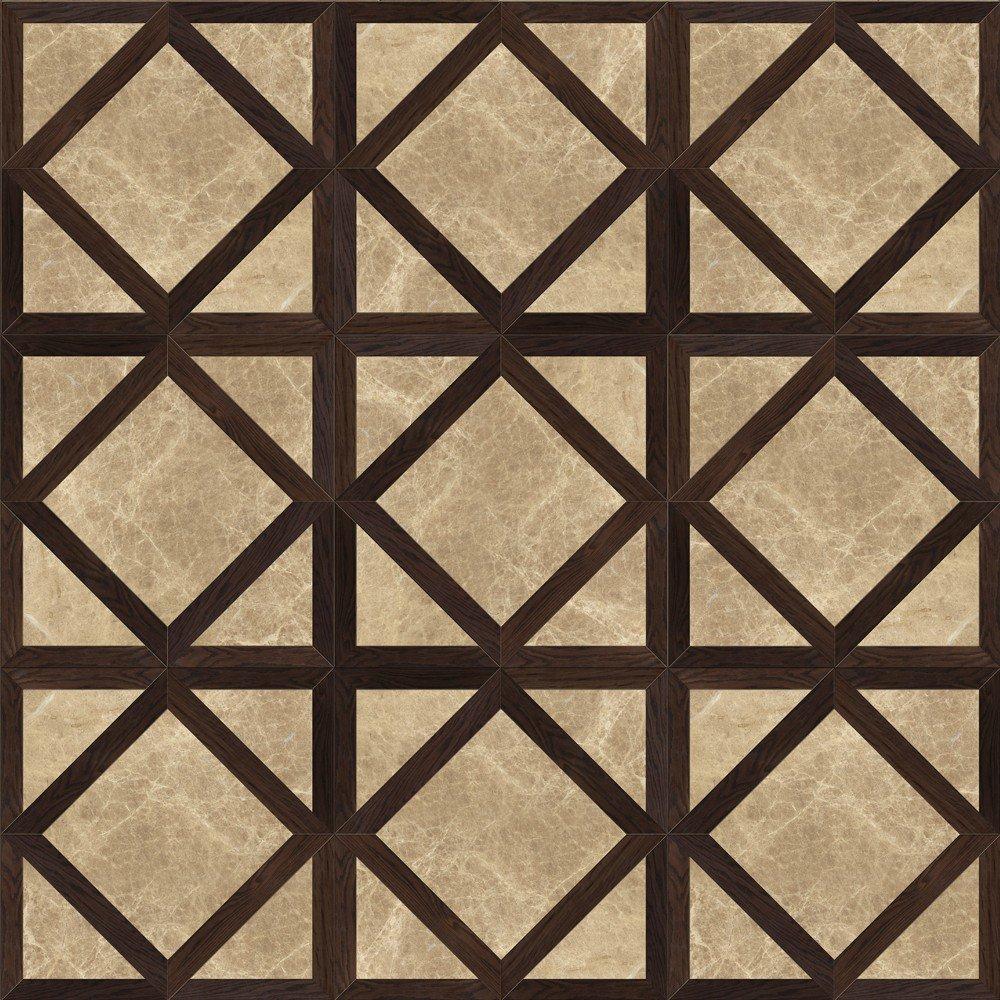 Модульный паркет Da Vinci с камнем 26-006-00437