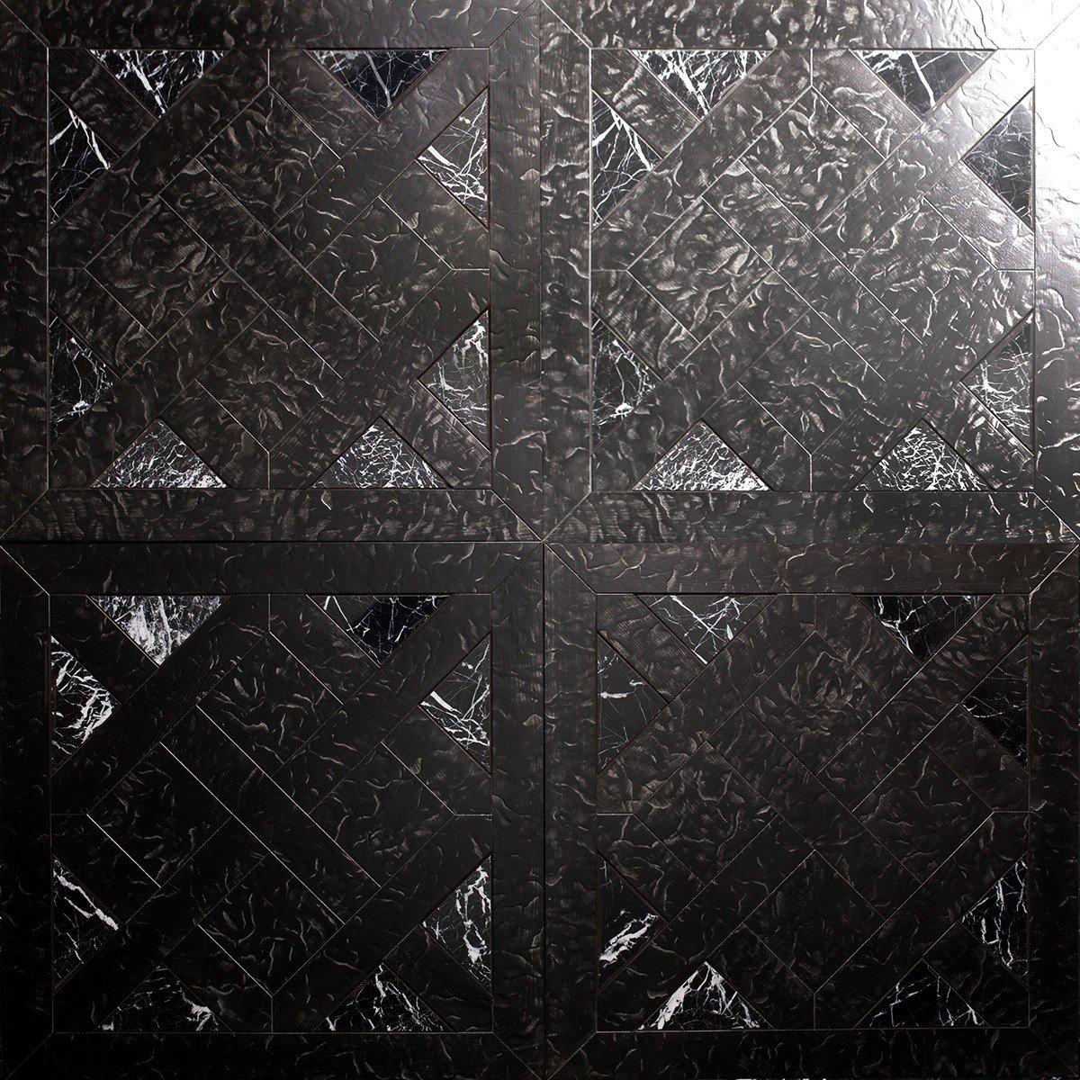 Модульный паркет Da Vinci с камнем 26-006-00442
