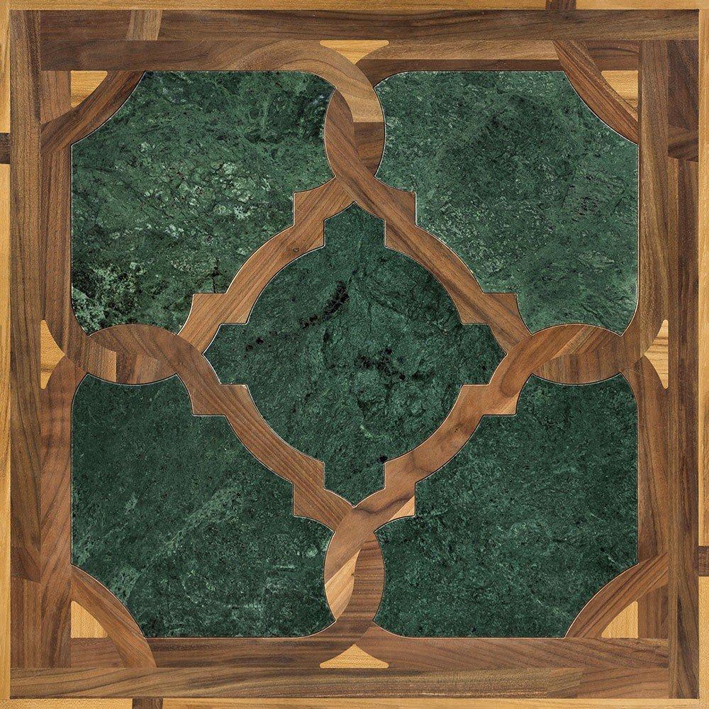 Модульный паркет Da Vinci с камнем 26-006-00456
