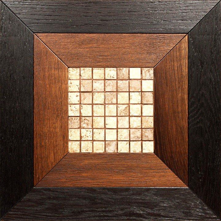 Модульный паркет Da Vinci с мозаикой 26-006-00471