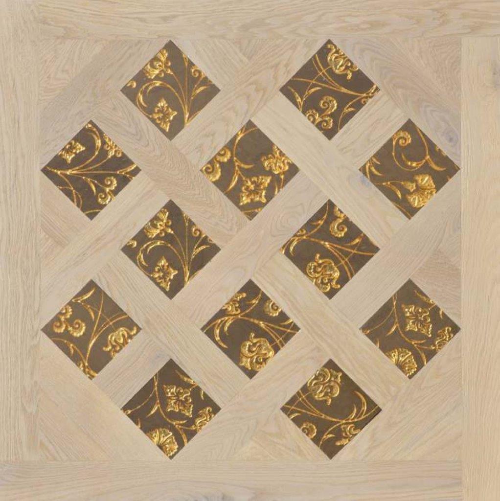 Модульный паркет Da Vinci с мозаикой 26-006-00474