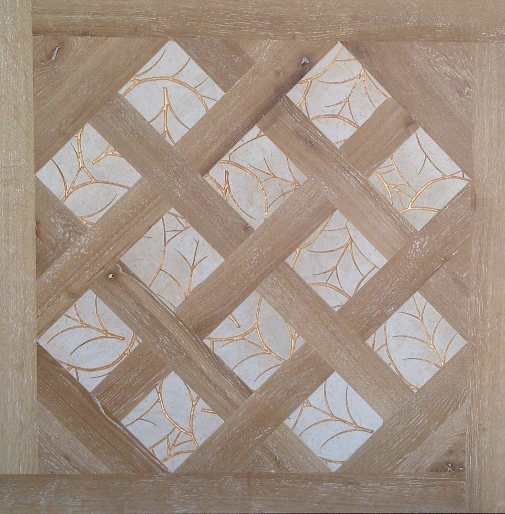Модульный паркет Da Vinci с мозаикой 26-006-00477