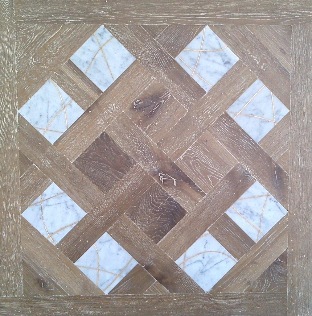 Модульный паркет Da Vinci с мозаикой 26-006-00478