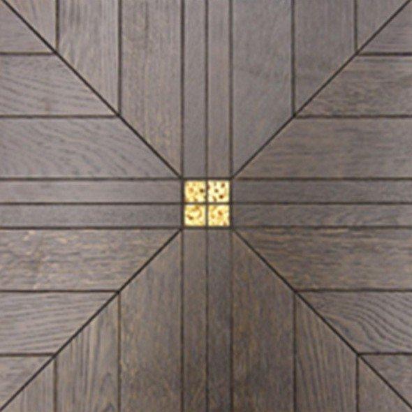 Модульный паркет Da Vinci с мозаикой 26-006-00481