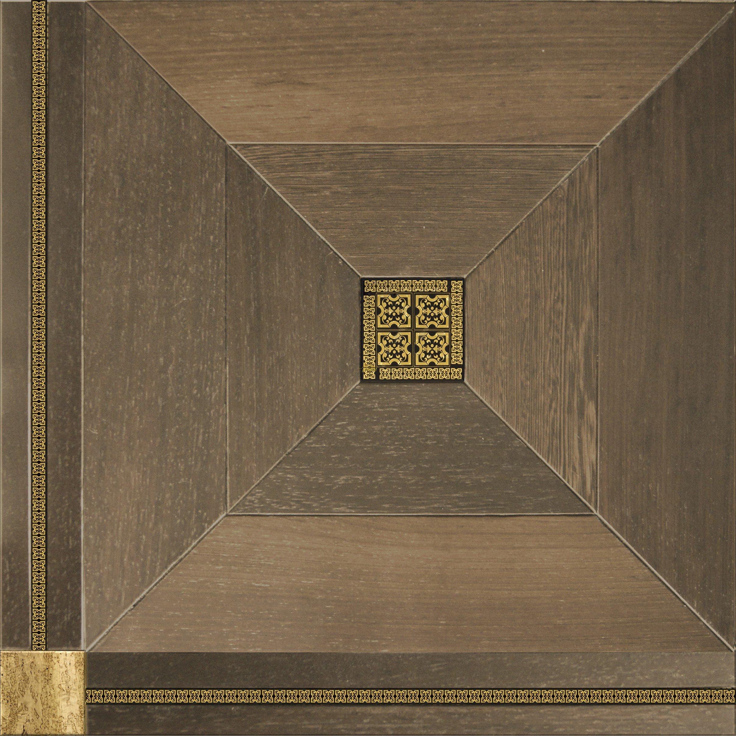 Модульный паркет Da Vinci с мозаикой 26-006-00485