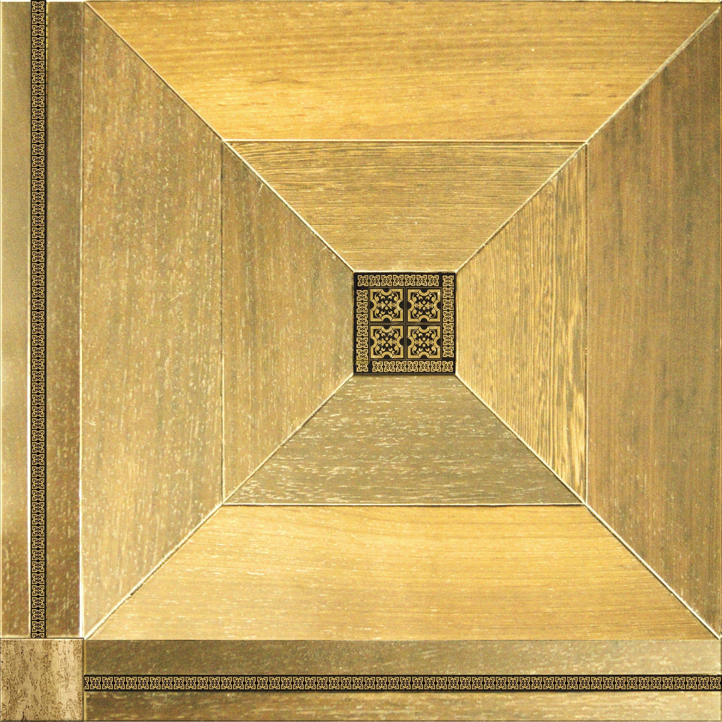 Модульный паркет Da Vinci с мозаикой 26-006-00486