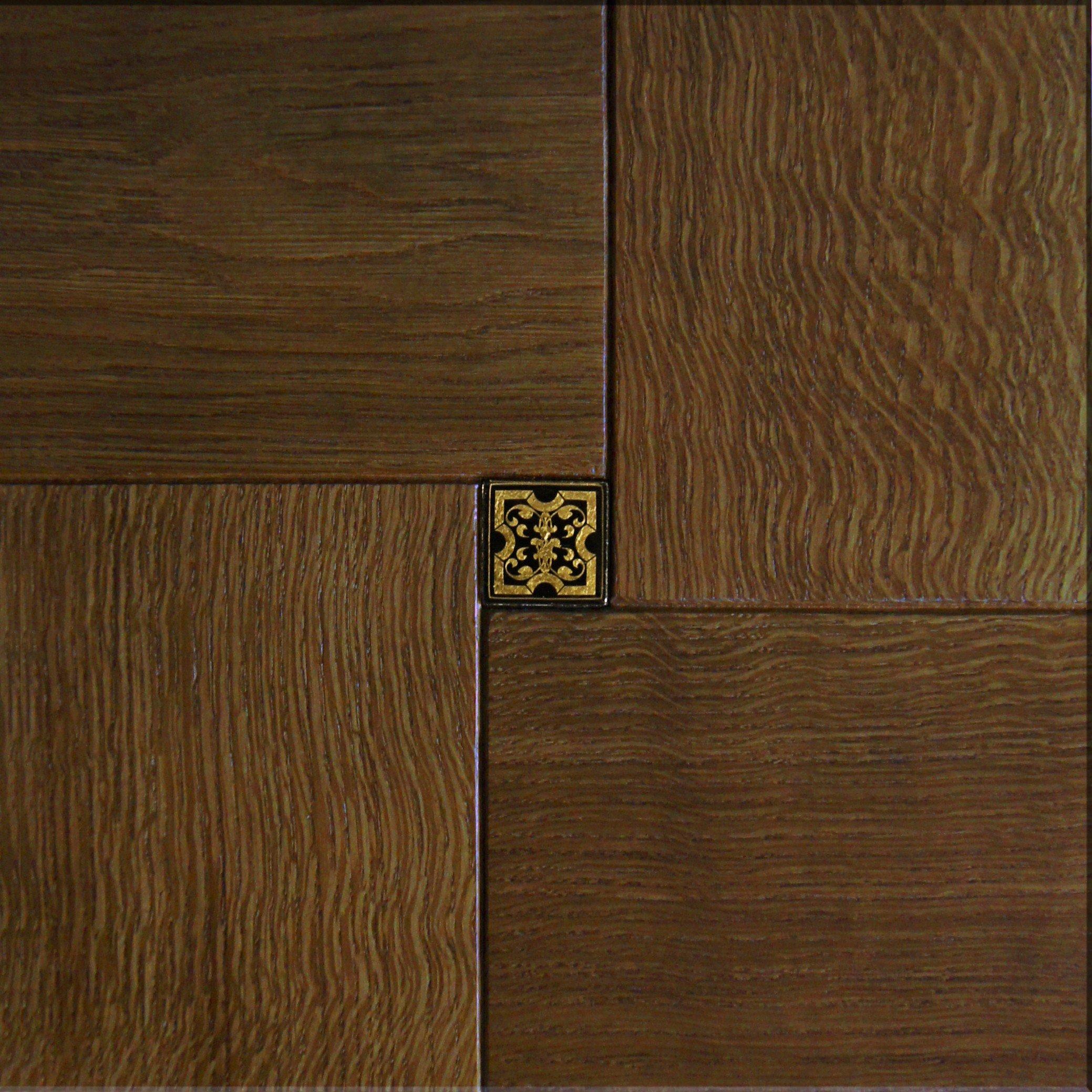 Модульный паркет Da Vinci с мозаикой 26-006-00489