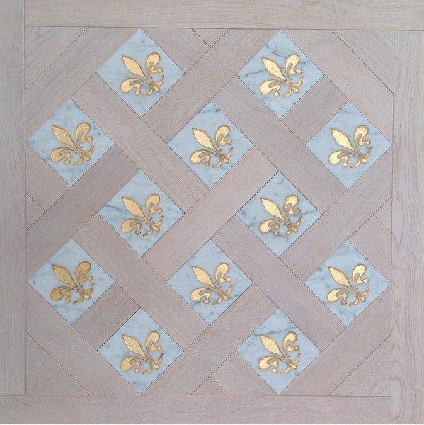 Модульный паркет Da Vinci с мозаикой 26-006-00493