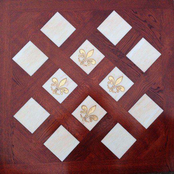 Модульный паркет Da Vinci с мозаикой 26-006-00494