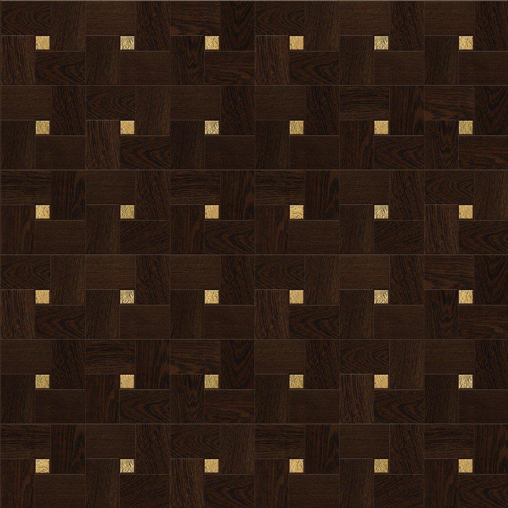Модульный паркет Da Vinci с металлом 26-006-00501