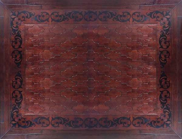 Модульный паркет Da Vinci состаренный 26-006-00556