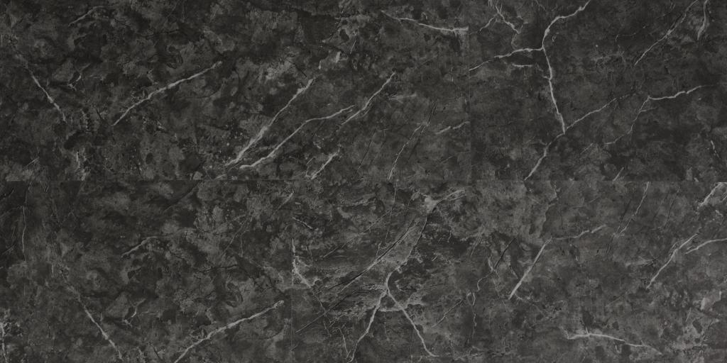Виниловый ламинат KLB Мрамор черный 780084