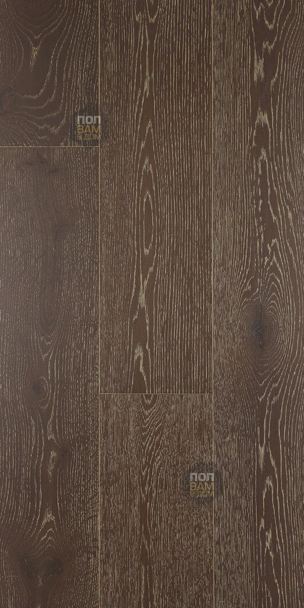 Массивная доска Coswick Дуб Винтаж коричневый