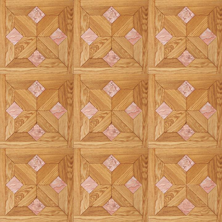 Модульный паркет Da Vinci Хамстед Маршал розовый мрамор