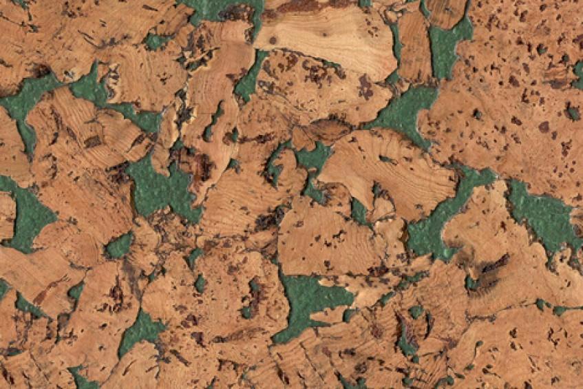 Пробковое покрытие CorkStyle Monte Green